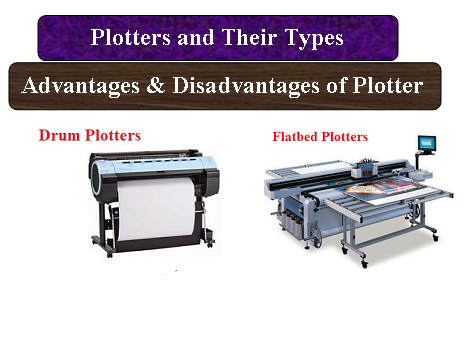 Plotters and Their Types   Advantages & Disadvantages of